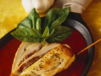 Stuffed Chicken Breasts with Tomato Sauce recipe