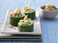 Stuffed Cucumber Cups recipe