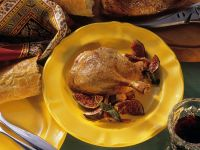 Stuffed Duck with Figs recipe