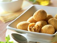 Stuffed Fried Rice Balls recipe