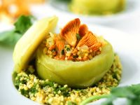 Stuffed Kohlrabi with Millet Filling recipe