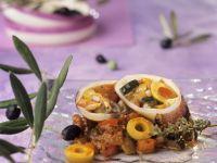 Stuffed Mediterranean Seafood recipe