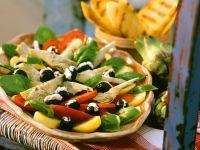 Stuffed Olive Salad recipe