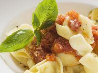 Stuffed Pasta with Basil recipe