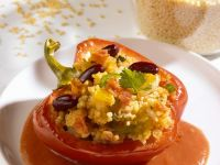 Stuffed Peppers with Millet recipe