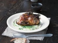 Game Bird with Stuffing recipe