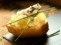 Stuffed Potatoes with Cheese recipe