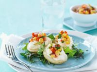 Stuffed Potatoes with Vegetables recipe
