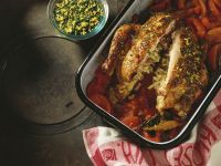 Stuffed Roast Chicken recipe