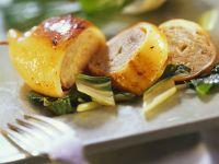 Stuffed Squid with Swiss Chard recipe