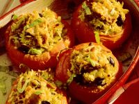 Stuffed Tomatoes with Rice and Tuna recipe