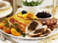 Stuffed Turkey for Christmas recipe