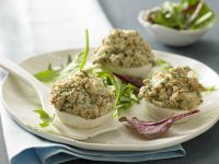 Stuffed Turnips with Sesame Crust recipe