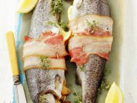 Stuffed Whole Fish with Thyme recipe