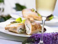 Stuffed with Cheese Chicken Breast recipe