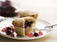 Sugar Free Berry Pies recipe