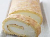 Sugar Free Lemon and Mascarpone Roulade recipe