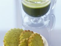 Sugar Free Matcha and Poppyseed Cookies recipe