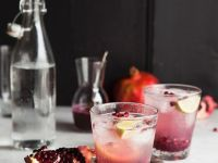 Sugar Free Pomegranate Sparkling Drink recipe