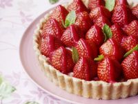 Sugar Free Strawberry Flan recipe