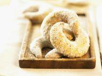 Sugar-Free Vanilla Crescent Cookies recipe