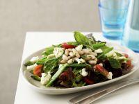 Sugar Snap and White Bean Salad recipe