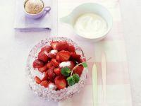Sugared Strawberries recipe