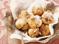 Sultana Fritters recipe