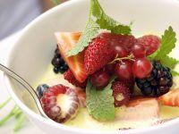 Summer Berries with Custard recipe