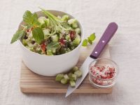 Summer Couscous Salad with Mint recipe