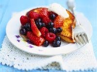 Summer Fruit Pain Perdu recipe