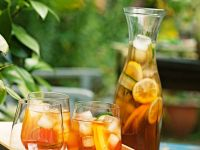 Summer Punch with Cucumber, Oranges and Lemons recipe