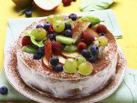 Summer Torte with Fruit recipe