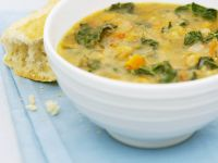 Summer Vegetable and Chickpea Soup recipe