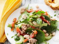Summery Tuna and Vegetable Salad recipe