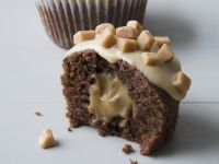 Surprise Centre Caramel Muffins recipe