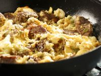 Swabian Style Beef and Egg Skillet (Katzagschroi) recipe