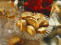 Sweet Almond Mini Toasts (cantucci) recipe