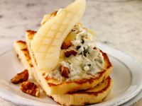 Sweet and Savoury Blue Cheese Pancakes recipe
