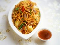 Sweet and Sour Duck with Noodles recipe