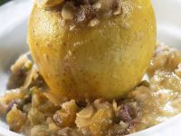 Sweet Apples with Nuts recipe