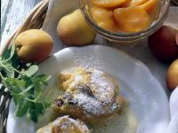 Sweet Bread Pudding with Vanilla Sauce recipe