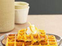 Sweet Carrot Waffles recipe