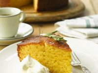 Sweet Cornmeal Sponge recipe