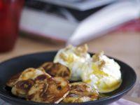 Sweet Drop Scones with Ice-cream recipe
