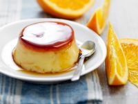 Sweet Flans with Citrus Fruit recipe