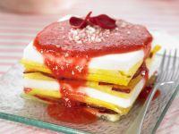 Sweet Fruit Layered Stacks recipe