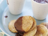 Sweet Mexican Rounds with Champurrado recipe