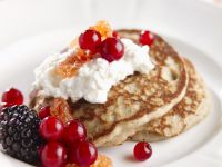 Sweet Mini Pancakes recipe