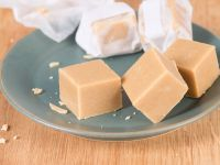 Sweet Nut Fudge Squares recipe